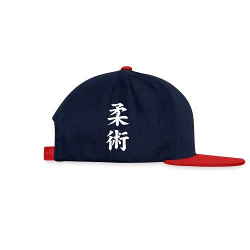 jiu-jitsu på japansk og logo i hvid - Snapback Cap