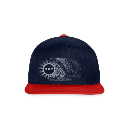 polynesian tribalsasfadeinv png - Snapback cap
