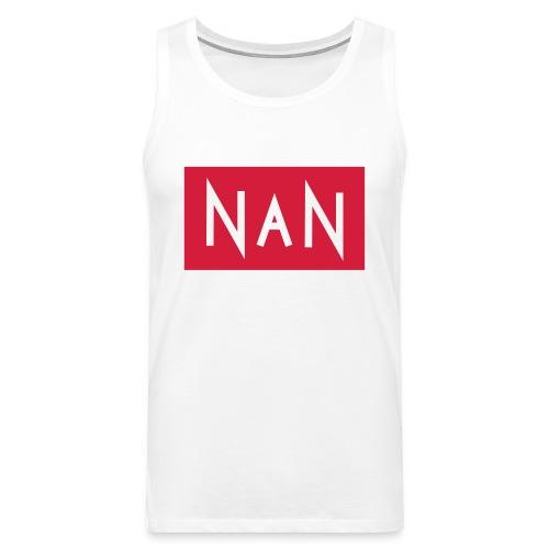 NaN | Not a Number - Mannen Premium tank top