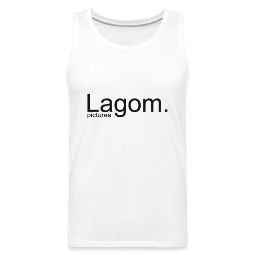 Lagom Pictures Logo Dark - Men's Premium Tank Top