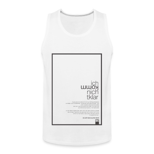 queens edition iknk - Männer Premium Tank Top