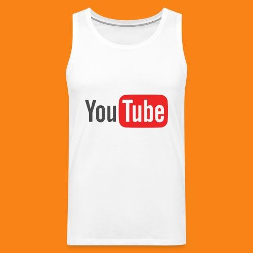 Youtube-logo-2014 - Tank top premium hombre