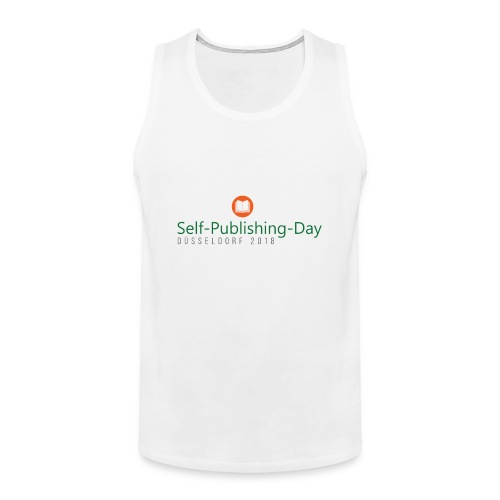 Self-Publishing-Day Düsseldorf 2018 - Männer Premium Tank Top