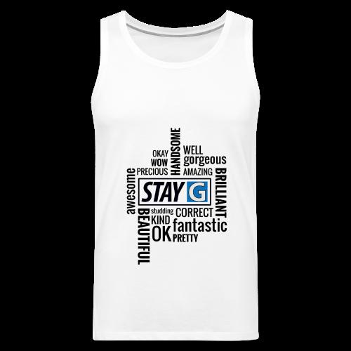 StayG One - Männer Premium Tank Top