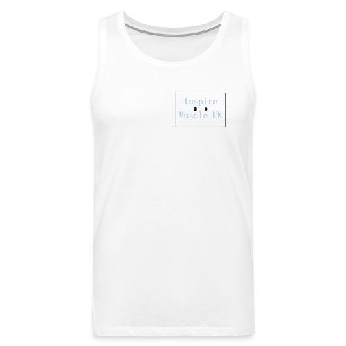 Inspire Muscle Uk Logo - Men's Premium Tank Top