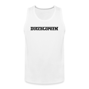 DutchCoreFM Logo Black - Men's Premium Tank Top