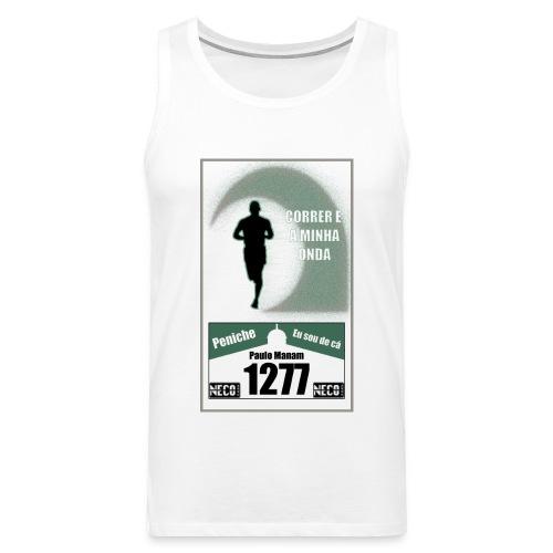 camisa branca - Tank top premium hombre