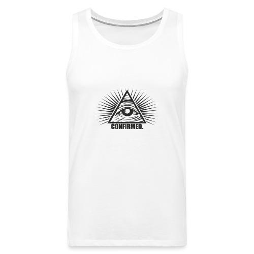 illuminati - Männer Premium Tank Top