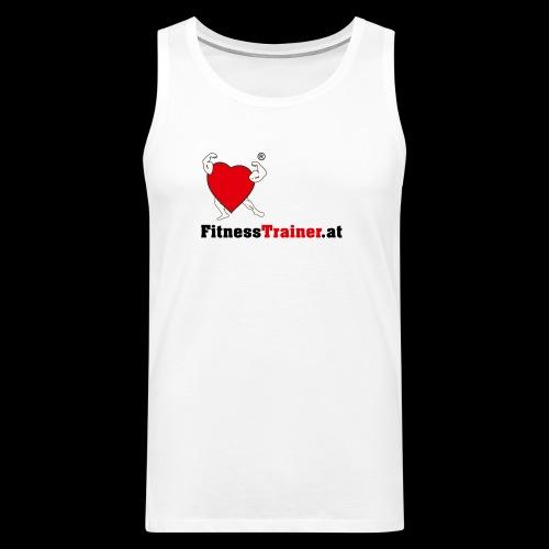 FitnessTrainer.at - Männer Premium Tank Top