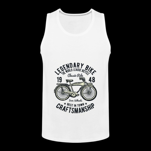 Legendary Bike - Radfahren oldschool - Männer Premium Tank Top