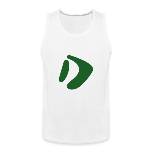 Logo D Green DomesSport - Männer Premium Tank Top