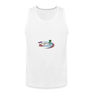 The Happy Wanderer Club Merchandise - Men's Premium Tank Top