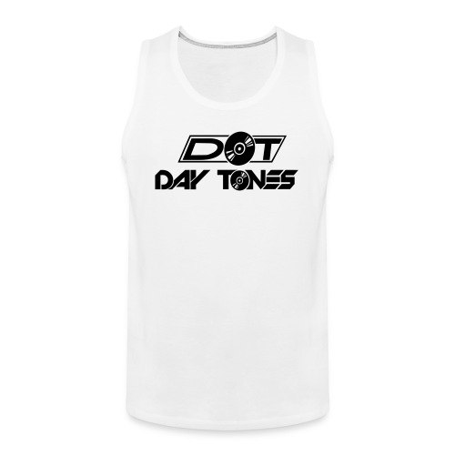 DT Logo black - Männer Premium Tank Top