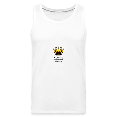 MarleySimsBrown(king_MarleyTHEgreat) - Men's Premium Tank Top