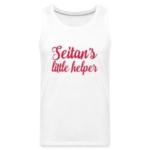 Seitan's Little Helper - Men's Premium Tank Top