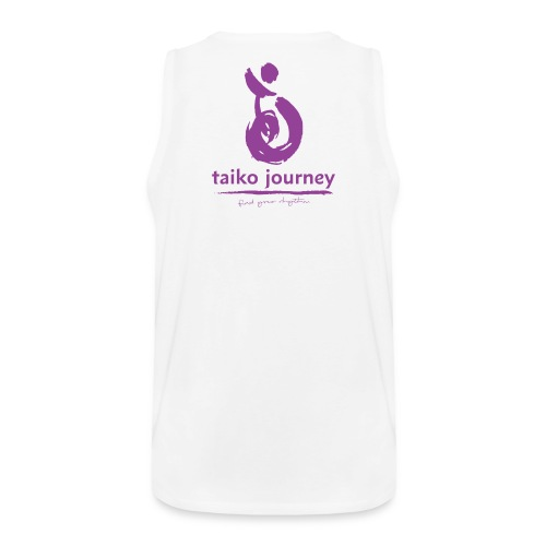 Taiko Journey PURPLE RHYTHM - Men's Premium Tank Top