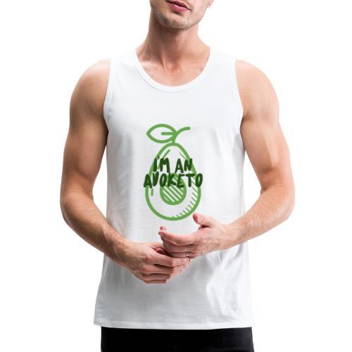 Witziges Keto Shirt Frauen Männer Ketarier Avocado - Männer Premium Tank Top