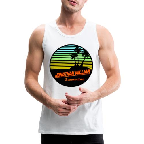 Jonathan William Summertime - Men's Premium Tank Top