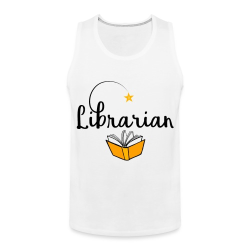 0326 Librarian & Librarian - Men's Premium Tank Top