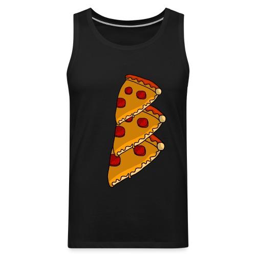 pizza - Herre Premium tanktop