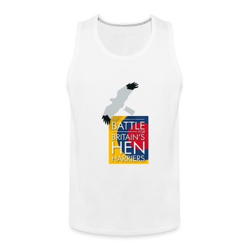 New for 2017 - Women's Hen Harrier Day T-shirt - Men's Premium Tank Top