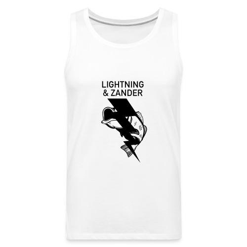 Lightning & Zander - Männer Premium Tank Top