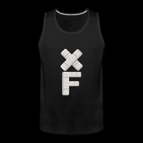 XF Xanax Logo - Männer Premium Tank Top