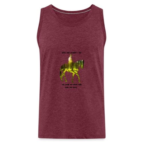 forest - Miesten premium hihaton paita