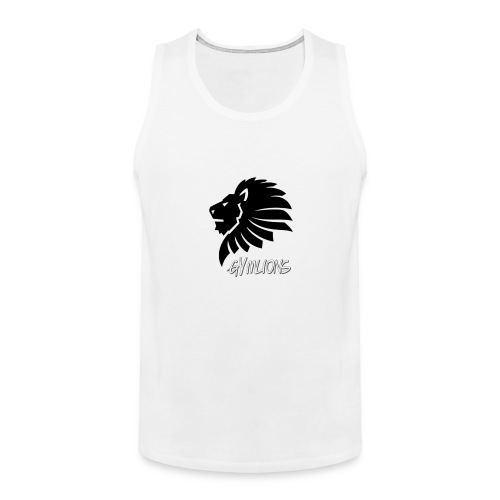 Gymlions T-Shirt - Männer Premium Tank Top