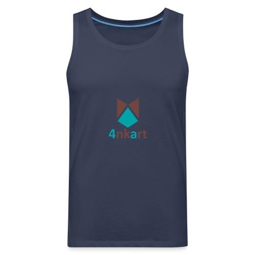 logo 4nkart - Débardeur Premium Homme