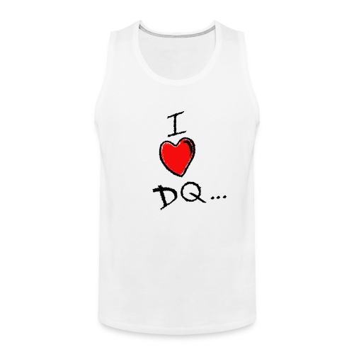 I Heart DQ Logo - Men's Premium Tank Top