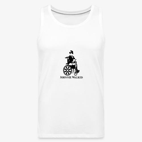Voor rolstoel gebruikers die van Whisky houden - Mannen Premium tank top