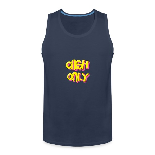 Cash only - Mannen Premium tank top