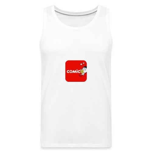 logo - Canotta premium da uomo