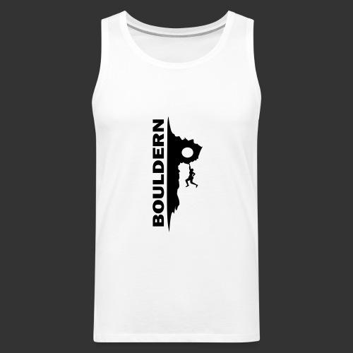 Bouldern - Männer Premium Tank Top