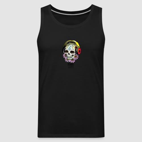 smiling_skull - Men's Premium Tank Top