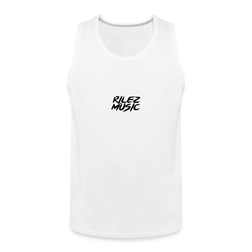 Camiseta de pico rilez - Tank top premium hombre