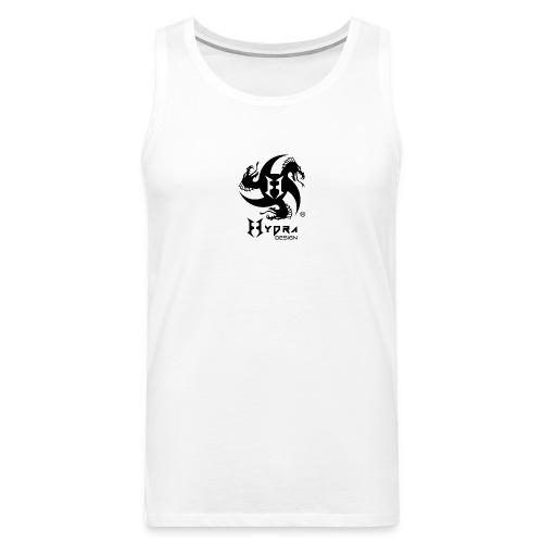 Hydra DESIGN - logo blk - Canotta premium da uomo