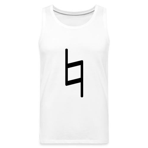 holy brand shirt, black - Männer Premium Tank Top