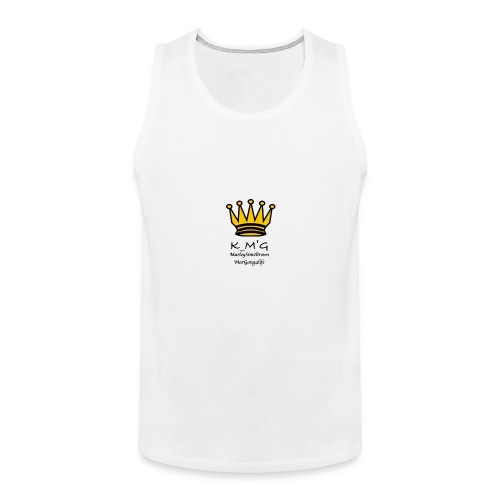 MarleySimsBrown(king_MarleyTHEgreat) - Men's Premium Tank Top