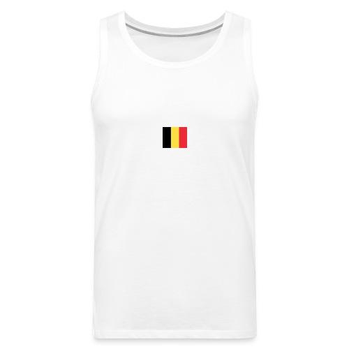 vlag be - Mannen Premium tank top