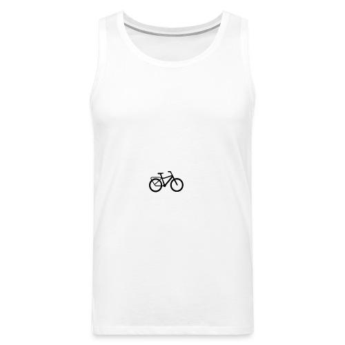 BCL Shirt Back White - Men's Premium Tank Top