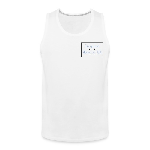 Inspire Muscle Uk Logo - Men's Premium Tank Top