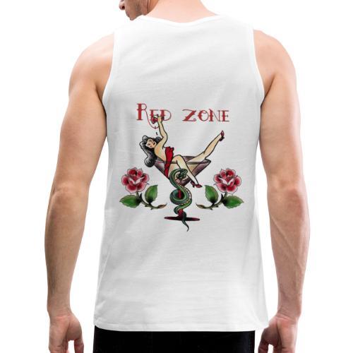 Red Zone - Tank top premium hombre