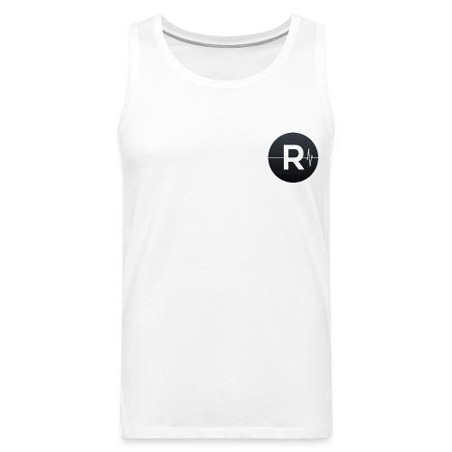REVIVED Small R (Black Logo) - Men's Premium Tank Top