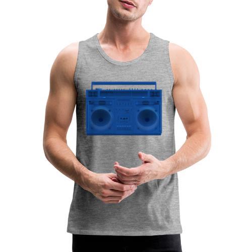 Bestes Stereo blau Design online - Männer Premium Tank Top