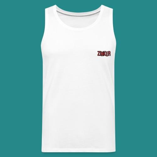 Zinker Logo trans - Männer Premium Tank Top
