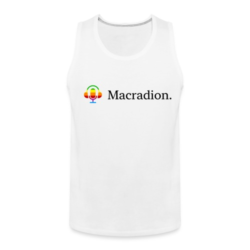 Macradion - Premiumtanktopp herr