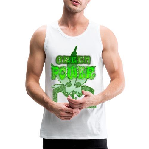 Green Power - Débardeur Premium Homme