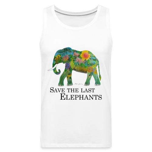 Save The Last Elephants - Männer Premium Tank Top